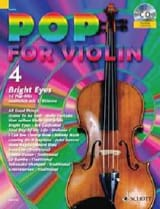 Pop for Violin Volume 4 - Bright Eyes Partition laflutedepan.com