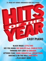Hits Of The Year 2015 (Easy Piano) - Partition - laflutedepan.com