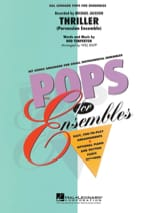 Thriller - Pops For Ensembles Michael Jackson laflutedepan.com