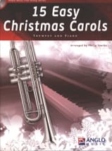 15 Easy Christmas Carols Noël Partition Trompette - laflutedepan