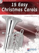 15 Easy Christmas Carols Noël Partition Tuba - laflutedepan.com