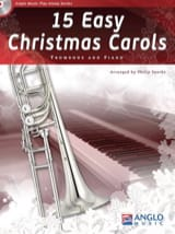 15 Easy Christmas Carols Noël Partition Trombone - laflutedepan.com