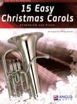 15 Easy Christmas Carols Noël Partition Tuba - laflutedepan.com