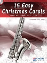 15 Easy Christmas Carols Noël Partition Saxophone - laflutedepan.com