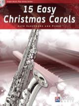 15 Easy Christmas Carols Noël Partition Saxophone - laflutedepan