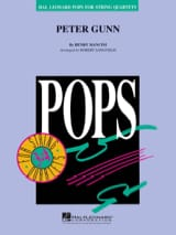 Henry Mancini - Peter Gunn - Pops For String Quartets - Partition - di-arezzo.fr