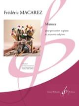 Minnea Frédéric Macarez Partition Multi Percussions - laflutedepan.com