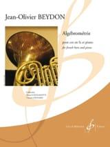 Jean-Olivier Beydon - Algébrométrie - Sheet Music - di-arezzo.co.uk