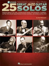 25 Great Jazz Guitar Solos Partition Jazz - laflutedepan.com