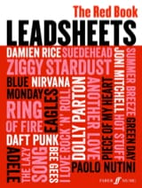 - Leadsheets (The Red Book) - Partition - di-arezzo.fr