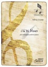 Ch'ti Blues Fabrice Lucato Partition Saxophone - laflutedepan.com