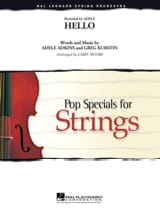 Hello - Pop Specials for Strings Adele Partition laflutedepan.com