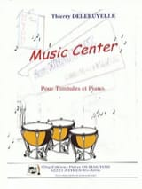 Music Center Thierry Deleruyelle Partition Timbales - laflutedepan.com