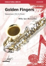 Golden Fingers Van Dorsselaer, Willy Partition laflutedepan.com