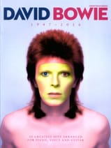 David Bowie - David Bowie 1947 - 2016 - Sheet Music - di-arezzo.co.uk