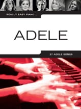 Really Easy Piano - Adele Adele Partition laflutedepan.com
