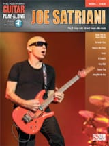 Joe Satriani - Guitar Play-Along Volume 185 Joe Satriani - Partition - di-arezzo.fr