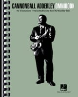 Canonball Adderley - Cannonball Adderley - Omnibook For C Instruments - Sheet Music - di-arezzo.co.uk