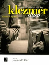 Klezmer Duets Dawid Christian & Alan Bern Partition laflutedepan.com