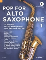 Pop For Alto Saxophone - Volume 1 - Partition - laflutedepan.com