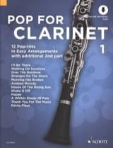 Pop For Clarinet - Volume 1 Partition Clarinette - laflutedepan.com