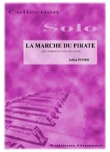 La Marche du Pirate Julien Pondé Partition Trompette - laflutedepan