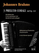 3 Chorale Preludes from Opus 122 BRAHMS Partition laflutedepan.com