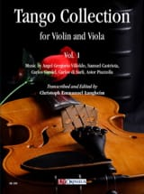 - Tango Collection for Violin and Viola - Volume 1 - Partition - di-arezzo.fr