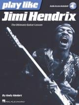 Play like Jimi Hendrix Jimi Hendrix Partition laflutedepan.com