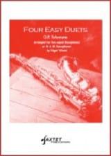 Four Easy Duets TELEMANN Partition Saxophone - laflutedepan
