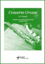 Georg Friedrich Haendel - Concerto Grosso Opus 6 No.4 - Partition - di-arezzo.fr
