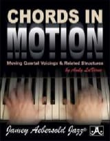 METHODE AEBERSOLD - In Motion Chords - Sheet Music - di-arezzo.com