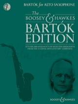 Bartók for Alto Saxophone BARTOK Partition Saxophone - laflutedepan