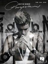 Purpose Justin Bieber Partition laflutedepan.com