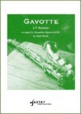 Gavotte - Jean-Philippe Rameau - Partition - laflutedepan.com