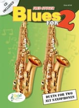 Blues for 2 Fred Stuger Partition Saxophone - laflutedepan.com