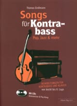 Songs für Kontrabass - Rock, Pop, Jazz avec 2 CDs laflutedepan.com