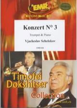 Vjacheslav Schelokov - Konzert N° 3 - Partition - di-arezzo.fr