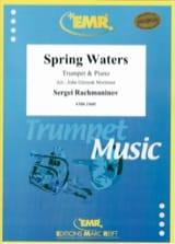 Sergei Rachmaninoff - Spring Waters - Partition - di-arezzo.fr