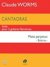 Cantaoras - Moto perpetuo (Bulerias) Claude Worms laflutedepan.com