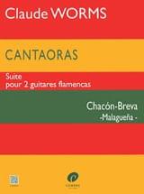 Claude Worms - Cantaoras - Chacon-Breva Malaguena - Partition - di-arezzo.fr
