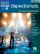 Dream Theater - Bass Play-Along Volume 47 - Partition - di-arezzo.fr