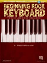 Mark Harrison - Beginning Rock Keyboard - Partition - di-arezzo.fr