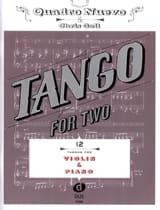 Tango For Two - Violon & Piano Partition Violon - laflutedepan.com