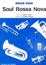 Soul Bossa Nova Score Brass Band/Score Quincy Jones laflutedepan