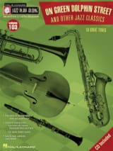 Jazz Play-Along Volume 103 - On Green Dolphin Street & Other Jazz Classics laflutedepan.com