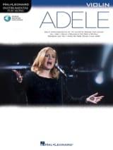 Adele pour Violon Adele Partition Violon - laflutedepan.com