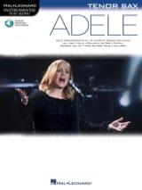 Adele, pour Sax Ténor Adele Partition Saxophone - laflutedepan.com