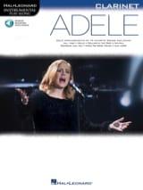 Adele pour Clarinette Adele Partition Clarinette - laflutedepan.com