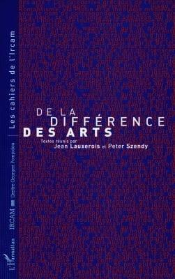 De la différence des arts Jean LAUXEROIS Livre Les Arts - laflutedepan